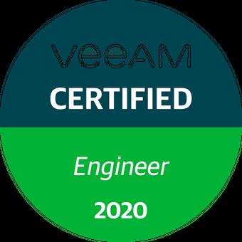 Veeam Certified Engineer - 2020